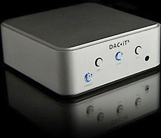 Peachtree DAC-iTx angled front view