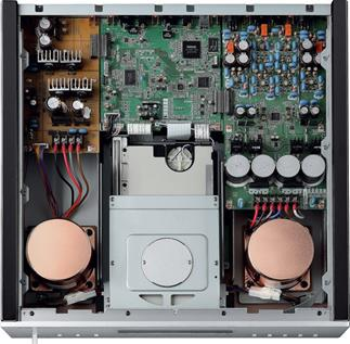 A look inside the Yamaha CD-S3000