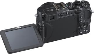 Nikon Coolpix P7800 compact digital camera with optional Wi-Fi and articulating monitor
