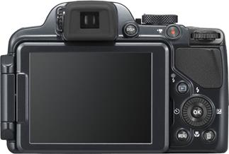 Nikon Coolpix P520 digital camera with 42X optical zoom, GPS, and optional Wi-Fi