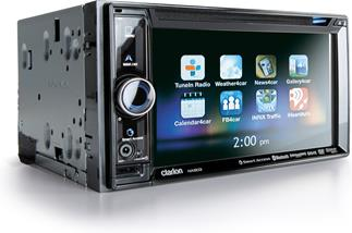 Clarion NX603 navigation receiver