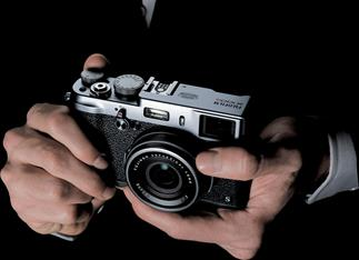 Fujifilm X100S compact digital camera with fixed f/2 24mm lens
