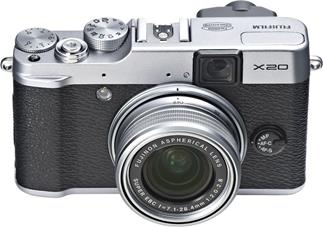 Fujifilm X20 compact digital camera