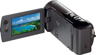The Sony Handycam® HDR-CX290 features 8GB of on-board flash memory