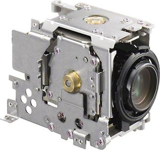 The Sony Handycam® HDR-CX430V's optical assembly moves as a unit to control shakes and vibration