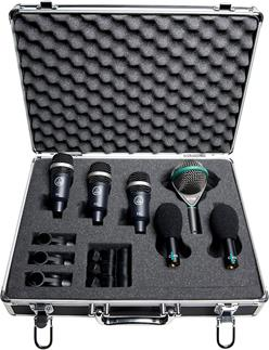 AKG drum kit microphones
