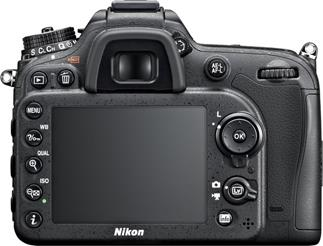 The Nikon D7100 offers a logical and intuitive control interface.