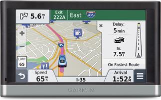 garmin n vi 2577lt portable navigator with voice. Black Bedroom Furniture Sets. Home Design Ideas