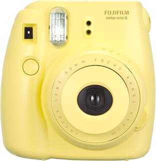 Fujifilm Instax Mini 8 in yellow