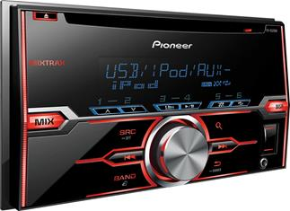 Pioneer FH-X520UI CD receiver at Crutchfield