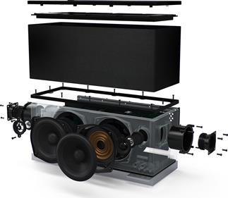 definitive technology w9 wireless powered speaker dts play fi definitive technology wireless powered speaker
