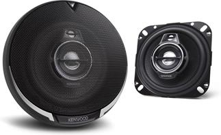 "4"" 3-way speakers"
