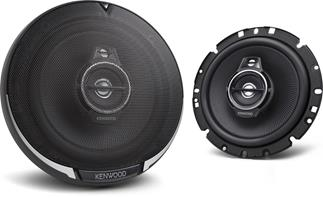 "6-3/4"" 3-way speakers"