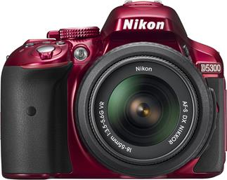 Nikon D5300 Zoom Kit (red)