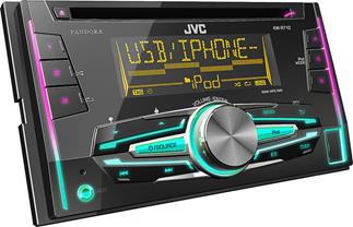 JVC KW-R710 CD receiver