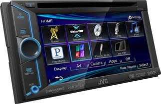JVC Arsenal KW-V100 DVD receiver