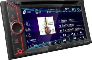 JVC KW-V200BT DVD receiver