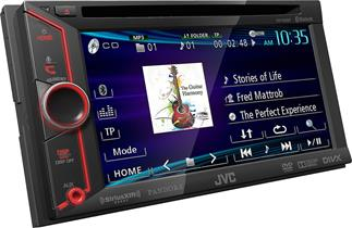 JVC KW-V20BT DVD receiver