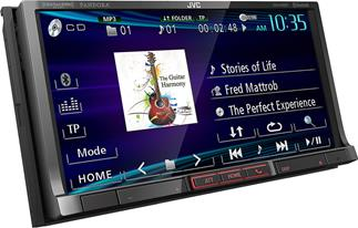 JVC KW-V40BT DVD receiver