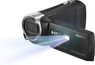 Sony HDR-PJ275 projection camcorder with 8GB flash memory