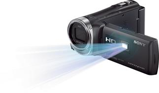 Sony HDR-PJ340 projection camcorder with 8GB flash memory