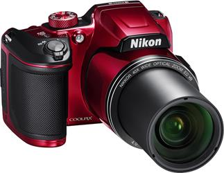 The built-in telephoto lens on the Nikon Coolpix B500 gets you 40X closer to the action.