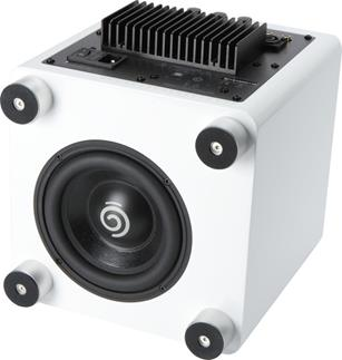 Sumiko S.0 powered sub in white