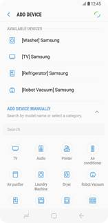 Samsung Connect Home Pro app screen