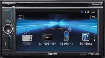 sony xav 601bt dvd receiver at crutchfield com simple controls