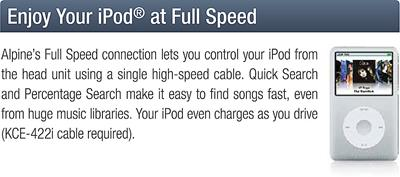 Full Speed iPod control