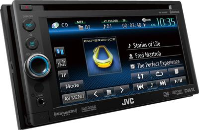 JVC's KW-AV60BT DVD receiver