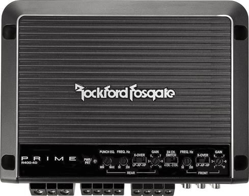 Rockford Fosgate Prime R400-4D 4-channel amplifier