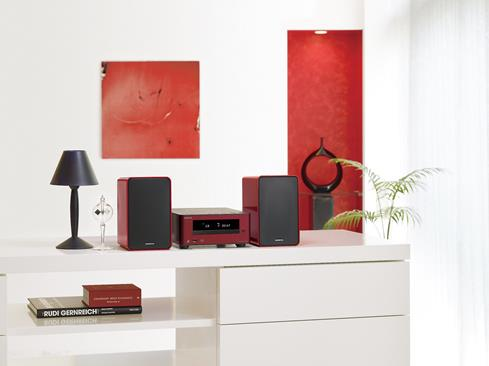 Onkyo CS355 environmental in red
