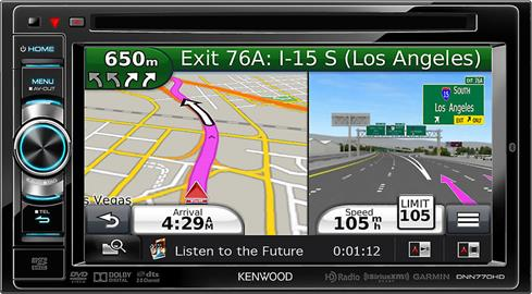 Kenwood DNN770HD navigation receiver