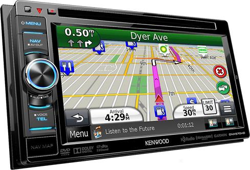 Kenwood DNX570HD Navigation receiver at Crutchfieldcom