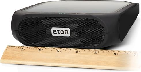 Eton Rugged Rukus solar-powered bluetooth portable powered speaker