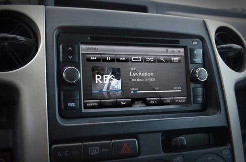 Car Show Pirhana CS-TY1210-US navigation receiver for Toyota