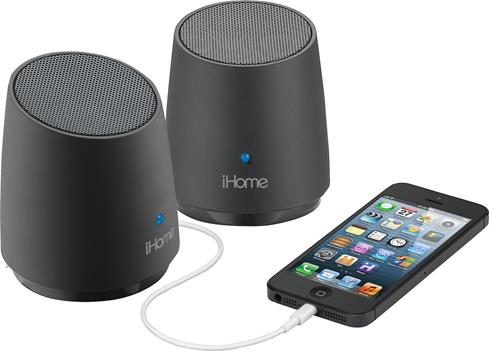 iHome iHM89 portable powered speakers