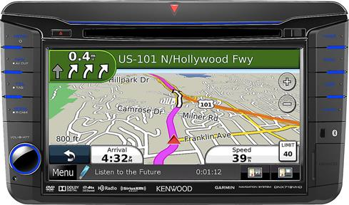 Kenwood DNX719VHD navigation receiver