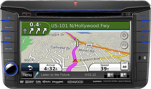 kenwood dnx719vhd navigation receiver custom fit. Black Bedroom Furniture Sets. Home Design Ideas
