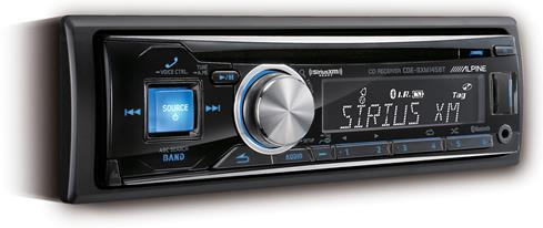 Alpine CDE-SXM145BT CD receiver