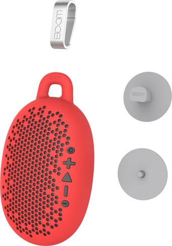 BOOM Urchin Bluetooth portable speaker system Red