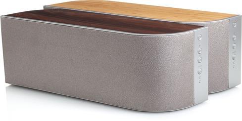 how to clean wood veneer speakers