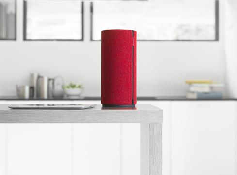 Libratone Zipp Rasberry Red wireless airplay speaker