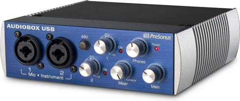 AudioBox USB computer recording interface