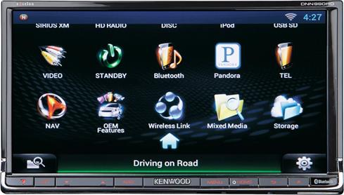 Kenwood DNN990HD navigation receiver