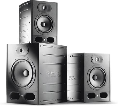The Focal Alpha studio monitor family