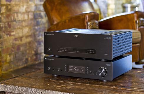 Cambridge Audio Azur 851E preamplifier and 851W power amp (not included)