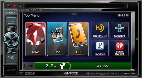 Kenwood DNX571HD navigation receiver