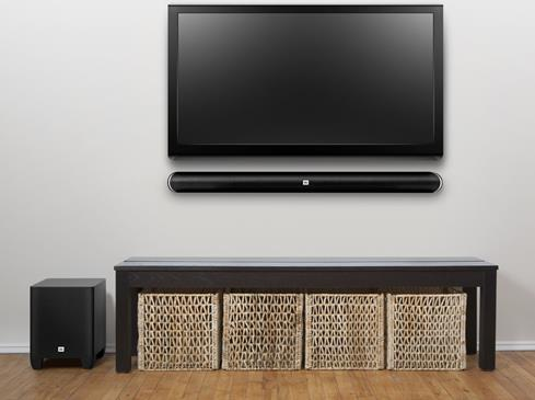 JBL SB350 sound bar and wireless subwoofer